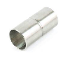 "Muffe 40 mm (1.1/2"") kort galvaniseret"