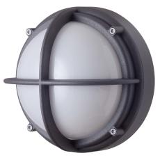 Skotlampe LED 8,5W 3000K uafskærmet opal grafitgrå