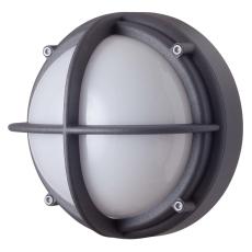 Skotlampe LED 8,5W 4000K uafskærmet opal grafitgrå