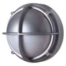 Skotlampe LED 8,5W 4000K halvafskærmet opal aluminium