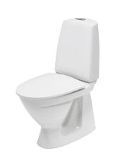 Ifö Sign toilet 6860, hvid indbygget S-lås