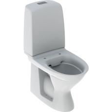 Ifö Spira gulvstående toilet med lukket S-lås, 4/2 liter