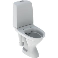 Ifö Spira gulvstående toilet med åben S-lås