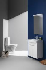 LAUFEN RIGO Toilet med P-lås