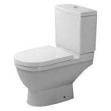 Starck 3 toilet med p-lås eksklusiv cisterne