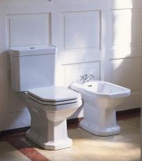 1930 serien toilet med s-lås, wondergliss