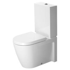 Starck 2 toilet, wondergliss back-to-wall