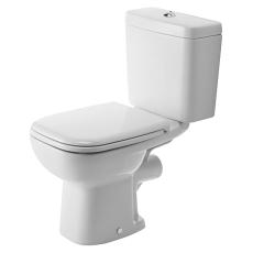 D-code toilet med P-lås, eksklusiv cisterne & sæde