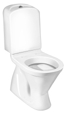 GBG 3500 Nordic3 gulv-WC med cisterne og skjult S-lås 3/6L