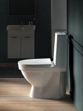Laufen Kompas WC skjult S-lås rimless