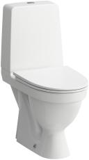 Laufen Kompas WC skjult S-lås rimless med LCC overflade
