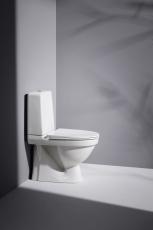 Laufen Kompas WC skjult S-lås rimless til limning