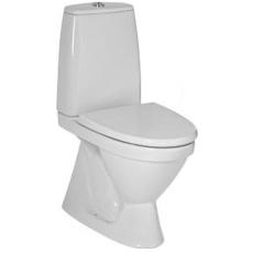 JIKA LYRA+ wc skjult s-lås hvid overflade diy model