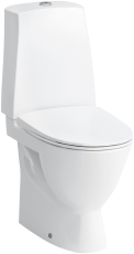 Laufen Pro-N wc med S-lås og LCC, rengøringsvenlig