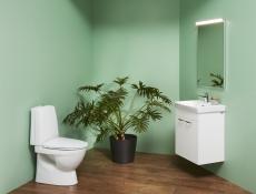 Laufen Pro-N wc med S-lås LCC t/lim