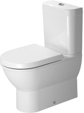 Darling new toilet back-to-wall