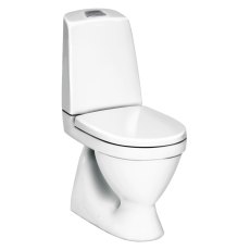 5500L wc nautic 2/4-l, krom/mat trykknap skjult S-lås