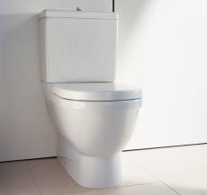 Starck 3 toilet back-to-wall Ekskl cisterne og sæde