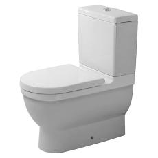 Starck 3 toilet back-to-wall, wondergliss
