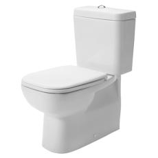 D-code toilet back-to-wall uden cisterne & sæde