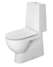 Gulvstående Duravit Nordisk toilet med Wondergliss
