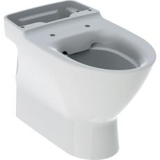 Ifö Spira Art toiletskål med lukket S-lås, til limnING