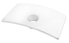 GBG 8193 Logic cisternelåg hvid
