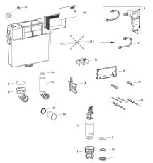 MEPA Beskyttelses/Montageplade