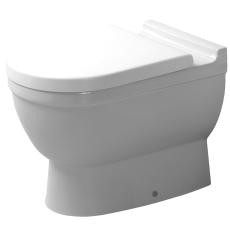Starck 3 toilet med p-lås