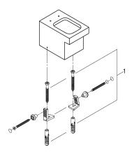 Cube Ceramic Gulvstående toilet mod væg Til indbygget cister