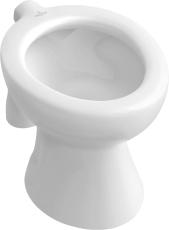 V&B 7646 O.Novo børne gulv wc C+ hvid uden sædehuller