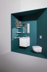 Laufen pro væghængt toilet i Rimless compact
