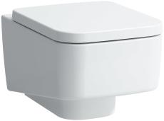Laufen pro væghængt toilet firkantet design med LCC overflad