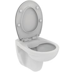 IS Eurovit væghængt toilet Rimless inkl. softclose sæde SWH