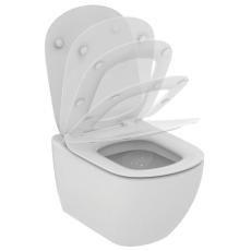 IS Tesi væghængt toilet m/skjult montering inkl. sæde softcl