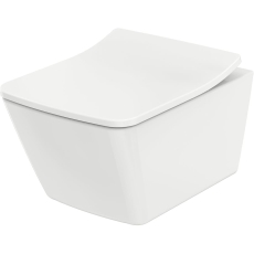 TOTO SP væghænht toilet i moderne, kantet design.
