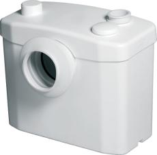 sanitop afløbspumpe silence for toilet og håndvask - b: 330