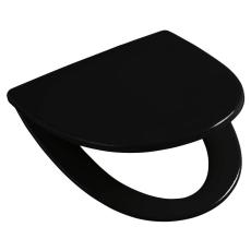 Ifö Sign sort sæde med quick release og fast beslag