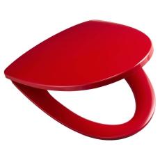 Ifö Sign rødt sæde med quick release og fast beslag