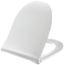 Pressalit Sway D2 hvid med soft close og lift-off