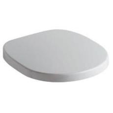 IS Connect toiletsæde med dæmpet nedslag hård plast