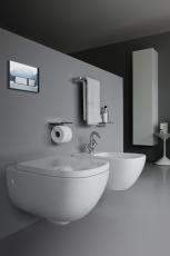 Laufen Palomba toiletsæde med softclose og quickrelease hvid