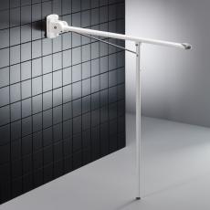 Pressalit Value Toiletstøtte,længde 850 mm, med 850 mm ben,