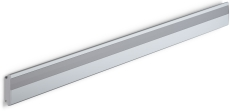 Pressalit Plus vægskinne, vandret, 900 mm, antracitgrå