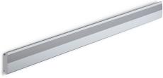 Pressalit Plus vægskinne, vandret, 1800 mm, antracitgrå