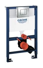 Grohe Rapid SL 3i1 WC 0,82m Inkl. krom trykplade