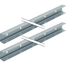 Duofix system-skinne 2 x 3 meter