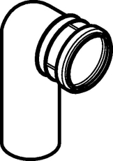 Geberit Duofix Ø90 mm kloset bøjning