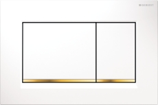 Sigma 30 betjeningsplade hvid/guld/hvid