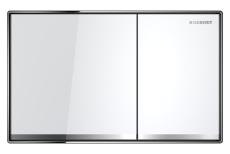 Sigma 60 betjeningsplade børstet hvid